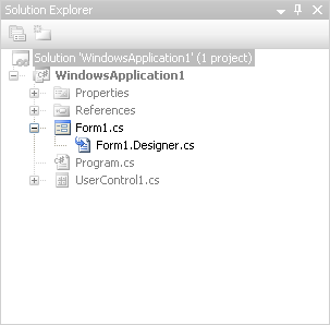Dependent Files generated by Visual Studio 2005